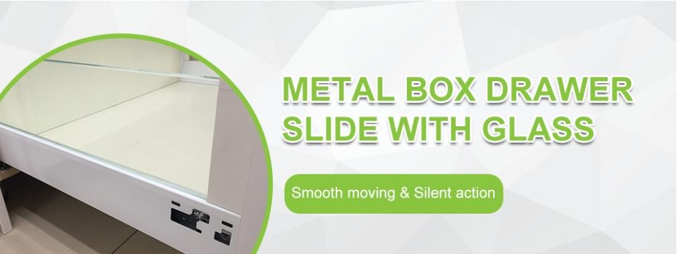 Linsont High Quality Tandem box Drawer Slide